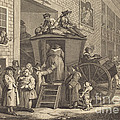 The Stage-coach, Or The Country Inn Yard by William Hogarth