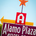 The Star Of Alamo Plaza by Sonja Quintero