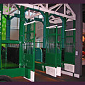 The Starting Gate Display In The Kentucky Derby Museum by Marian Bell