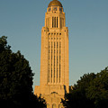 The State Capitol Building In Lincoln by Joel Sartore