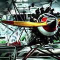 The Stearman C-3b Biplane by David Patterson