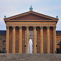 The Steps Of The Philadelphia Museum Of Art by Bill Cannon