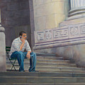 The Steps To The Humanities by Lou Spina