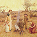 The Stick Fire by Kate Greenaway