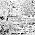 The Stone House At The Oliver Miller Homestead by Digital Photographic Arts