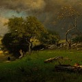 The Storm, George Inness by MotionAge Designs
