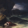 The Storm Or The Shipwreck by Theodore Gericault