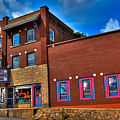 The Strand Theatre - Old Forge New York by David Patterson