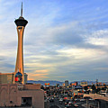 The Stratosphere In Las Vegas by Susanne Van Hulst