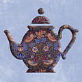 The Strawberry Thief Pattern Teapot by Anthony Murphy