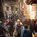 The Streets Of Kathmandu by Didier Marti