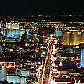 The Strip At Las Vegas,nevada by Panoramic Images
