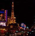 The Strip At Night 1 by Anita Burgermeister
