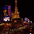 The Strip At Night 2 by Anita Burgermeister