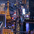 the Strip at night, Las Vegas by Sv