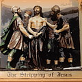 The Stripping Of Jesus by Ed Weidman