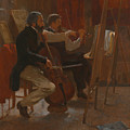 The Studio by Winslow Homer