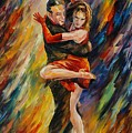 The Sublime Tango  by Leonid Afremov