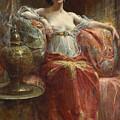 The Sultan's Favourite by Henri Adrien Tanoux