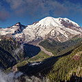 The Summit Of Mount Rainier by Pierre Leclerc Photography