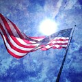The Sun And The Flag by Michelle Calkins