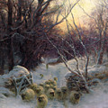 The Sun Had Closed The Winter Day by Joseph Farquharson