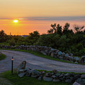 The Sun Sets On Block Island by Justin Starr