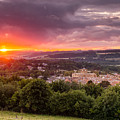 The Sun Sets Over Hexham by David Head
