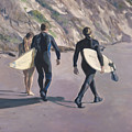 The Surfers by Merle Keller