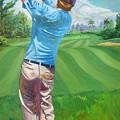 The Swing by D T LaVercombe