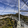 The Swinging Bridge Of Grandfather Mountain by Stephen Brown