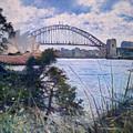 The Sydney Opera House And Harbour Bridge. Australia 2007  by Enver Larney