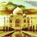 The Taj Mahal by Mario Carini
