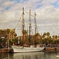 The Tall Ship - Barcelona by Mary Machare