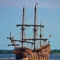 The Tall Ship El Galeon by Bob Sample