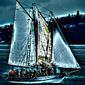 The Tall Ship Lavengro by David Patterson