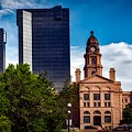 The Tarrant County Courthouse by Mountain Dreams