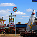 The Tee-pee Curios On Route 66 Nm by Susanne Van Hulst