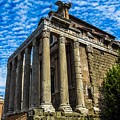 The Temple Of Antoninus And Faustina by Marilyn Burton