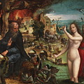 The Temptations Of Saint Anthony Abbot by Coecke Van Aelst Pieter