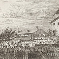 The Terrace [lower Right] by Canaletto
