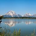 The Tetons On Jackson Lake - Grand Teton National Park Wyoming by Brian Harig