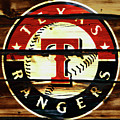 The Texas Rangers 2w by Brian Reaves