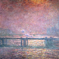 The Thames At Charing Cross by Claude Monet