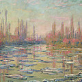 The Thaw On The Seine by Claude Monet