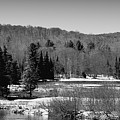 The Thawing Of The Moose River by David Patterson