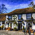 The Theydon Oak Pub Art by David Pyatt