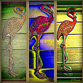 The Three Flamingos by Leslie Revels