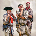 The Three Frontiersmen  by Randy Steele