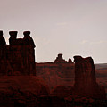 The Three Gossips Arches National Park Utah by Christine Till